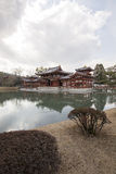 Byodo-in Buddhist temple, a UNESCO World Heritage Site. Phoenix. Hall building. Kyoto. Japan Royalty Free Stock Images