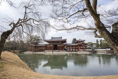Byodo-in Buddhist temple, a UNESCO World Heritage Site. Phoenix Royalty Free Stock Photos