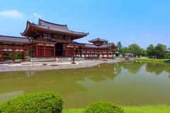 Byodo-dans le temple à Kyoto, le Japon Photographie stock libre de droits