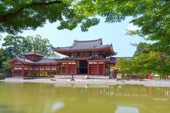 Byodo-dans le temple à Kyoto, le Japon Image libre de droits