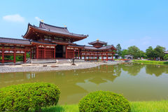 Byodo-dans le temple à Kyoto, le Japon photo stock