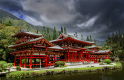 Byodo-dans le temple photographie stock