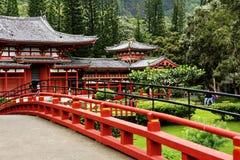 Byodo-dans le temple Photos libres de droits
