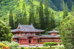 Byodo-dans le temple Images libres de droits