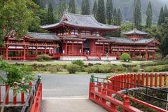 Byodo-Dans le temple photos stock