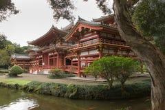Byodo-Dans le temple 6 Photos libres de droits