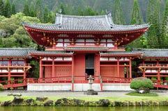 Byodo-Dans le temple bouddhiste Images libres de droits