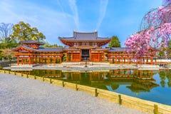 Byodo-dans le temple, le Japon image stock