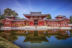 Byodo-dans le temple à Kyoto, le Japon Image stock