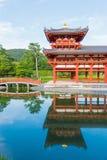Byodo-em Phoenix Sal?o ? um templo budista na cidade de Uji na prefeitura de Kyoto, Jap?o fotografia de stock
