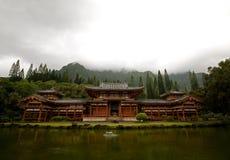 Byodo-En el templo Imagenes de archivo