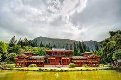 Byodo-en el templo Foto de archivo