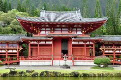 Byodo-En el templo budista Imágenes de archivo libres de regalías