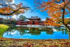 Byodo-en el templo kyoto Foto de archivo