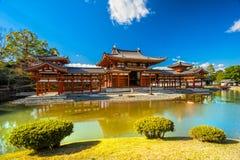 Byodo-en el templo kyoto Foto de archivo libre de regalías