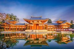 Byodo-en el templo, Kyoto, Japón imagenes de archivo
