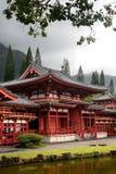 Byodo-En el templo, O'aho, Hawaii Fotografía de archivo