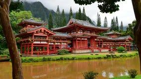 byodo Hawaii świątynia Zdjęcia Stock