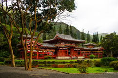 Byodo-i templet Fotografering för Bildbyråer