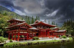 Byodo-i templet Arkivbild