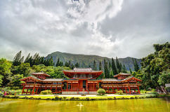 Byodo-i templet Arkivfoto