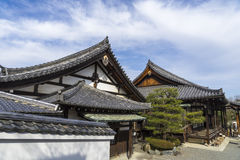 Byodo-i templet i Kyoto Japan royaltyfri foto