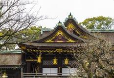 Byodo-i templet i Kyoto Japan royaltyfria bilder