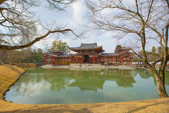 Byodo-i templet japan arkivbilder