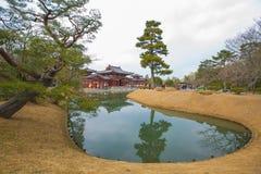 Byodo-i templet japan fotografering för bildbyråer