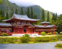 Byodo-in Japanse Tempel Stock Afbeeldingen