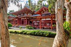 Byodo-no templo imagem de stock