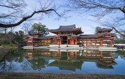Byodo-no templo em Kyoto, Japão fotografia de stock