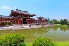 Byodo-no templo em Kyoto, Japão foto de stock