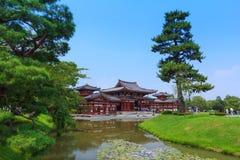 Byodo-no templo em Kyoto, Japão imagem de stock