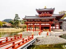 Byodo-no templo, Kyoto, Japão 1 fotos de stock royalty free