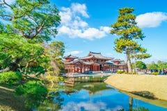 Byodo-No templo Kyoto, Japão imagem de stock