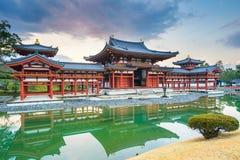 Byodo-no templo na cidade de Uji na prefeitura de Kyoto, Japão Fotos de Stock