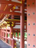 Byodo-no templo, vale dos templos Memorial Park, Havaí fotografia de stock