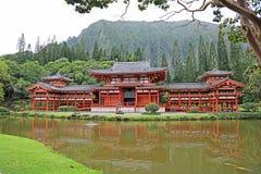 Byodo-in Tempel Stock Foto's
