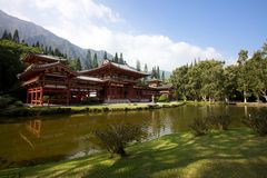 Byodo-in Tempel Hawaï Royalty-vrije Stock Foto