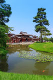 Byodo-in Tempel in Kyoto, Japan Stock Afbeelding