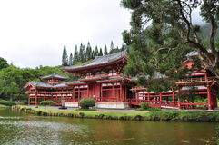 Byodo-in Tempel, Oahu Royalty-vrije Stock Afbeeldingen