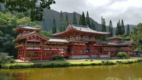 Byodo-in Tempel, Oahu, Hawaiii Stock Foto