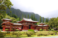 Byodo In temple Royalty Free Stock Images