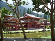 Byodo -in Temple Stock Photo