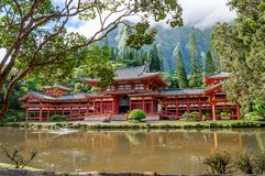 Byodo-In Temple royalty free stock photo