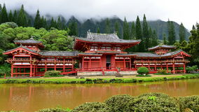 Byodo-in Temple in Hawaii Stock Photos