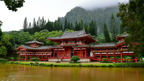 Byodo-in Temple in Hawaii Royalty Free Stock Photography