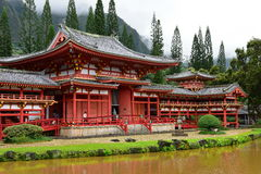 Byodo-in Temple in Hawaii Royalty Free Stock Images
