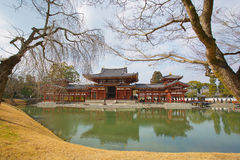 Byodo-in Temple. Japan. Royalty Free Stock Image
